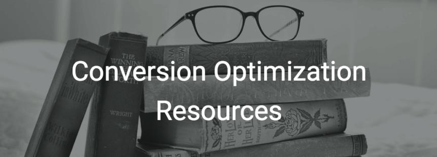 Conversion optimization resources