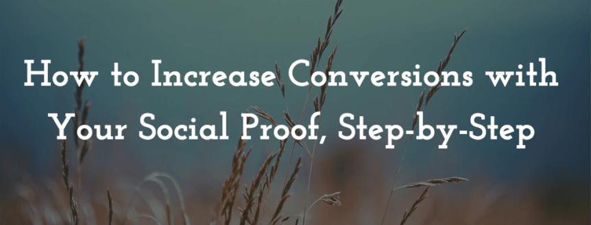 advance social proof tips