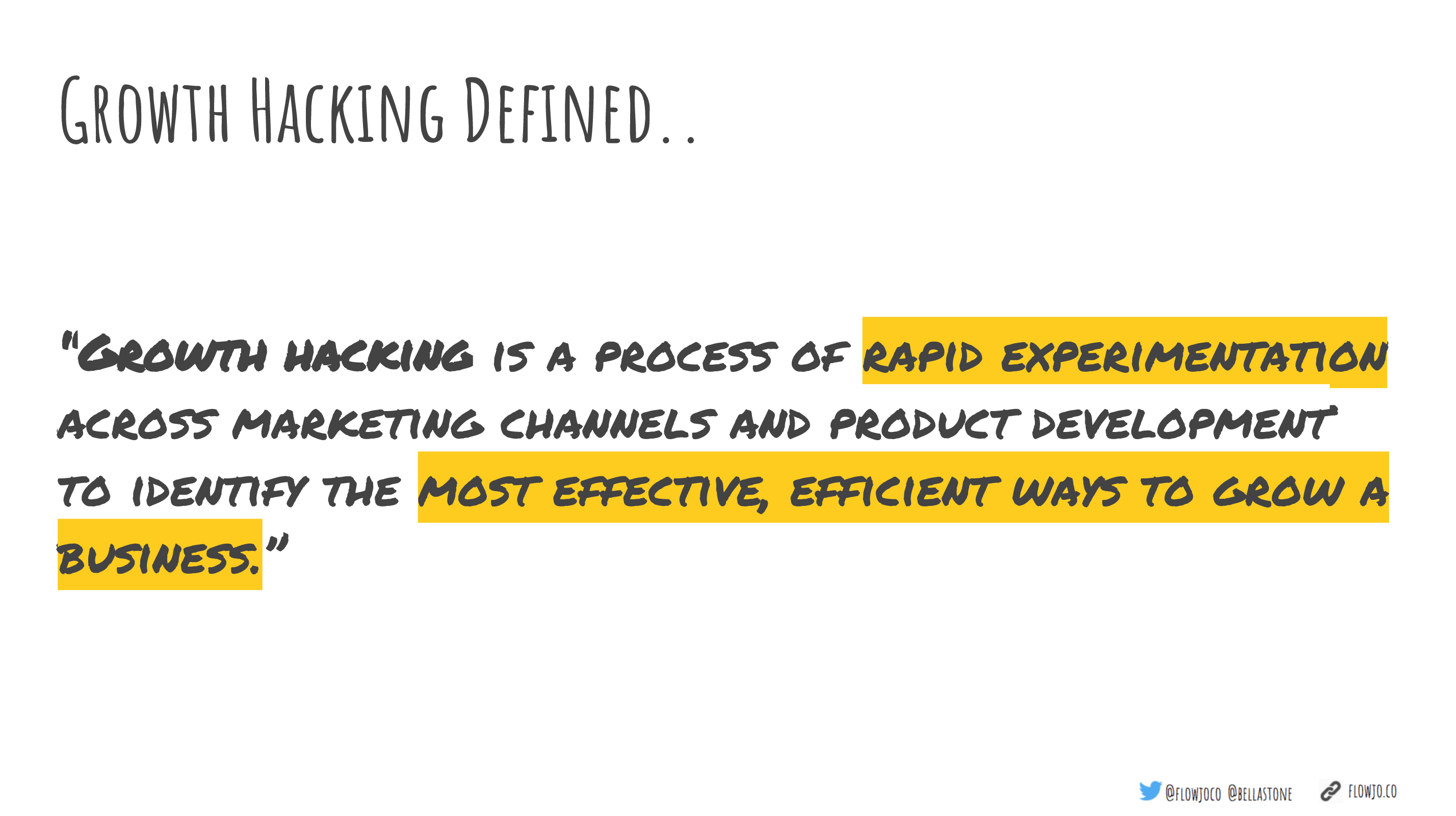 growth hacking definition