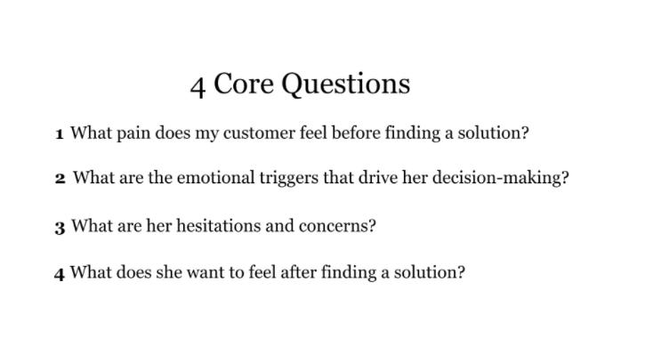 4 questions that matter