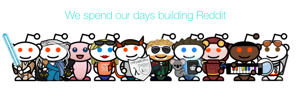 Reddit used their brand personality on about us page
