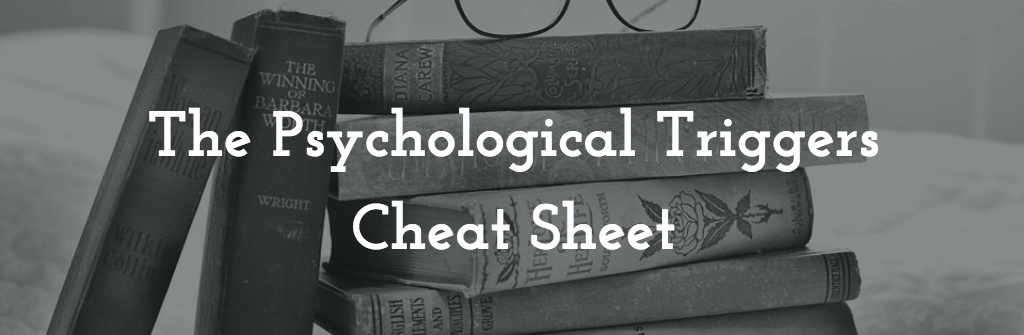 The Psychological Triggers and Cognitive Biases Cheat Sheet