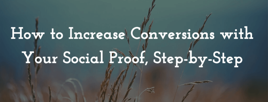 advance social proof tips