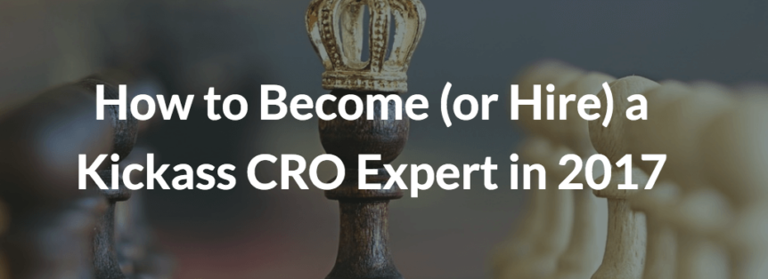 become a cro expert