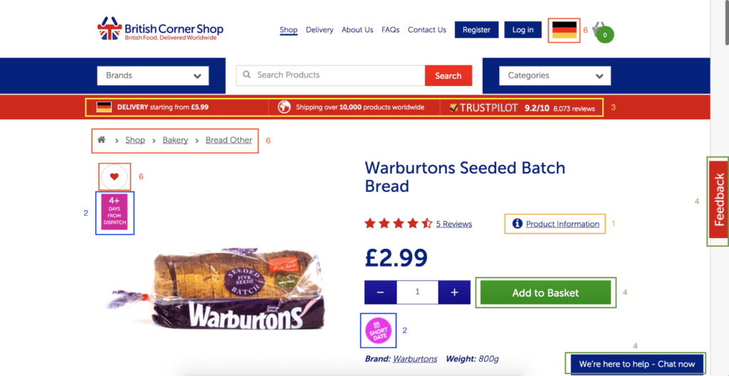 optimize product pages ecommerce