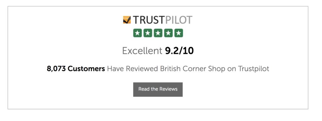 trustpilot example