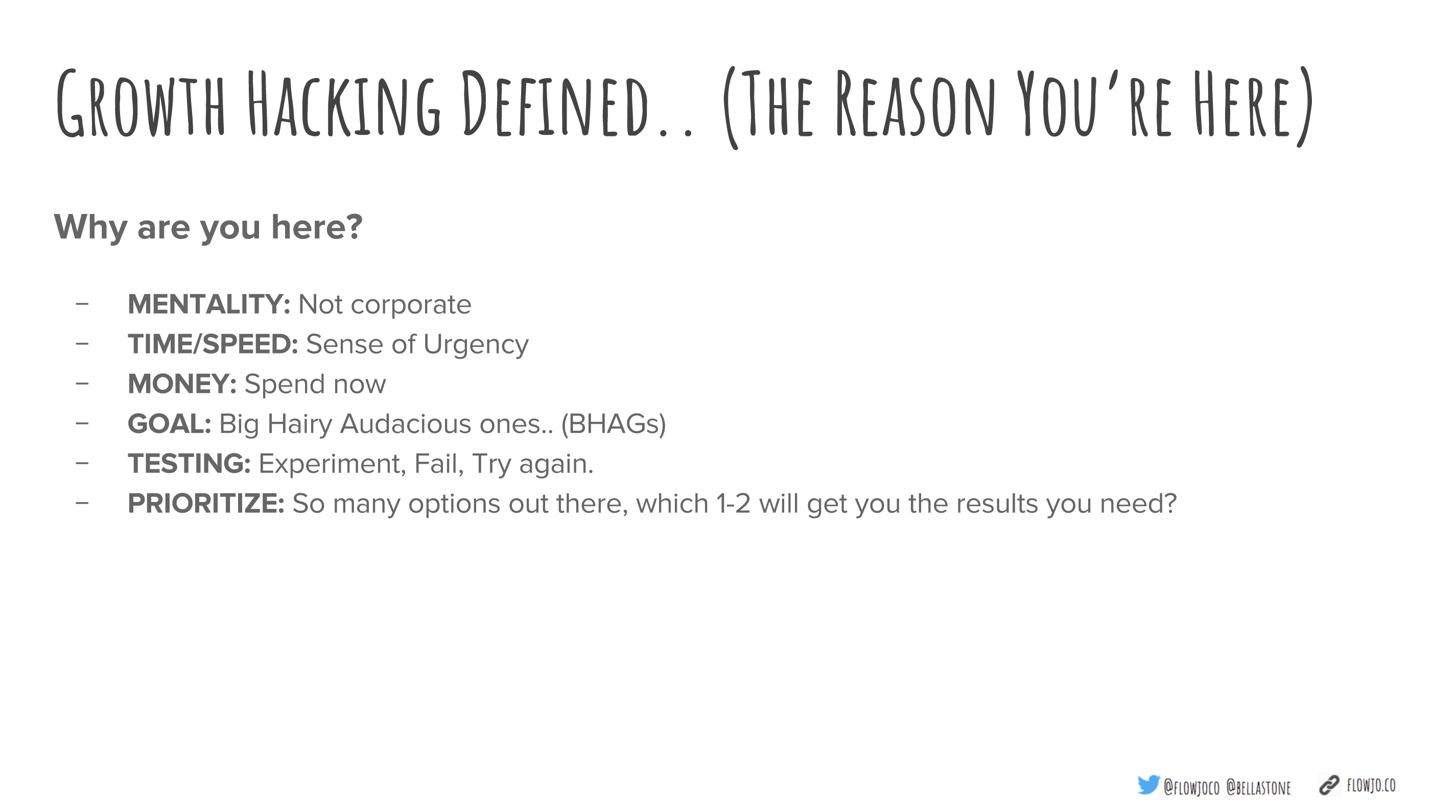 growth hacking definitions