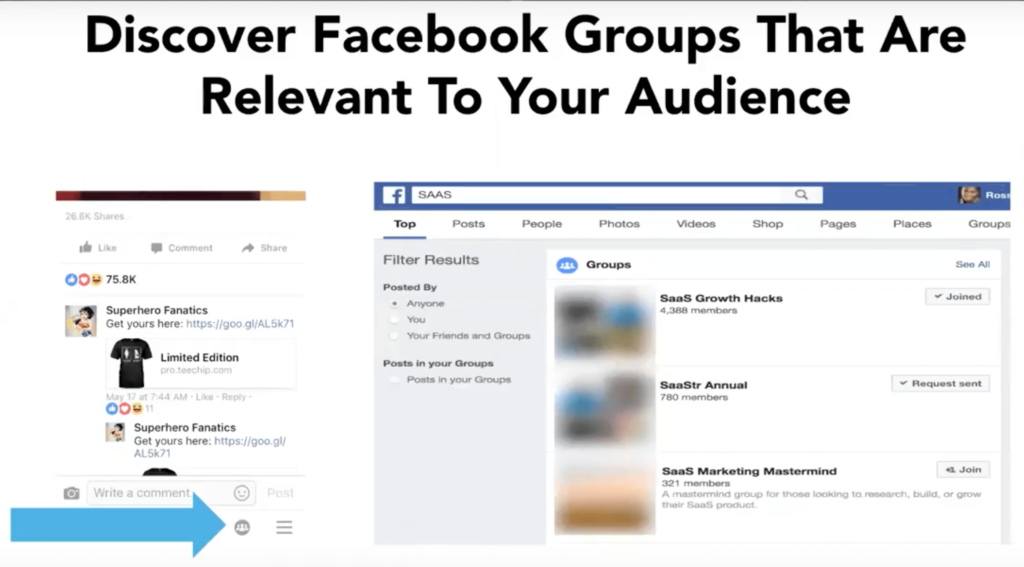b2b facebook groups