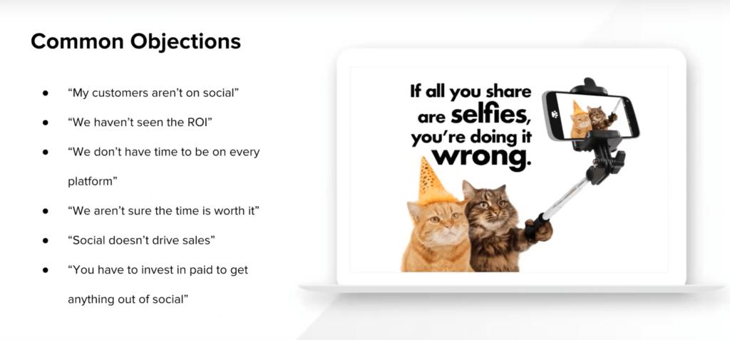social media objections