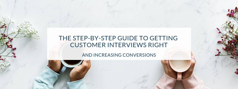 customer interviews guide