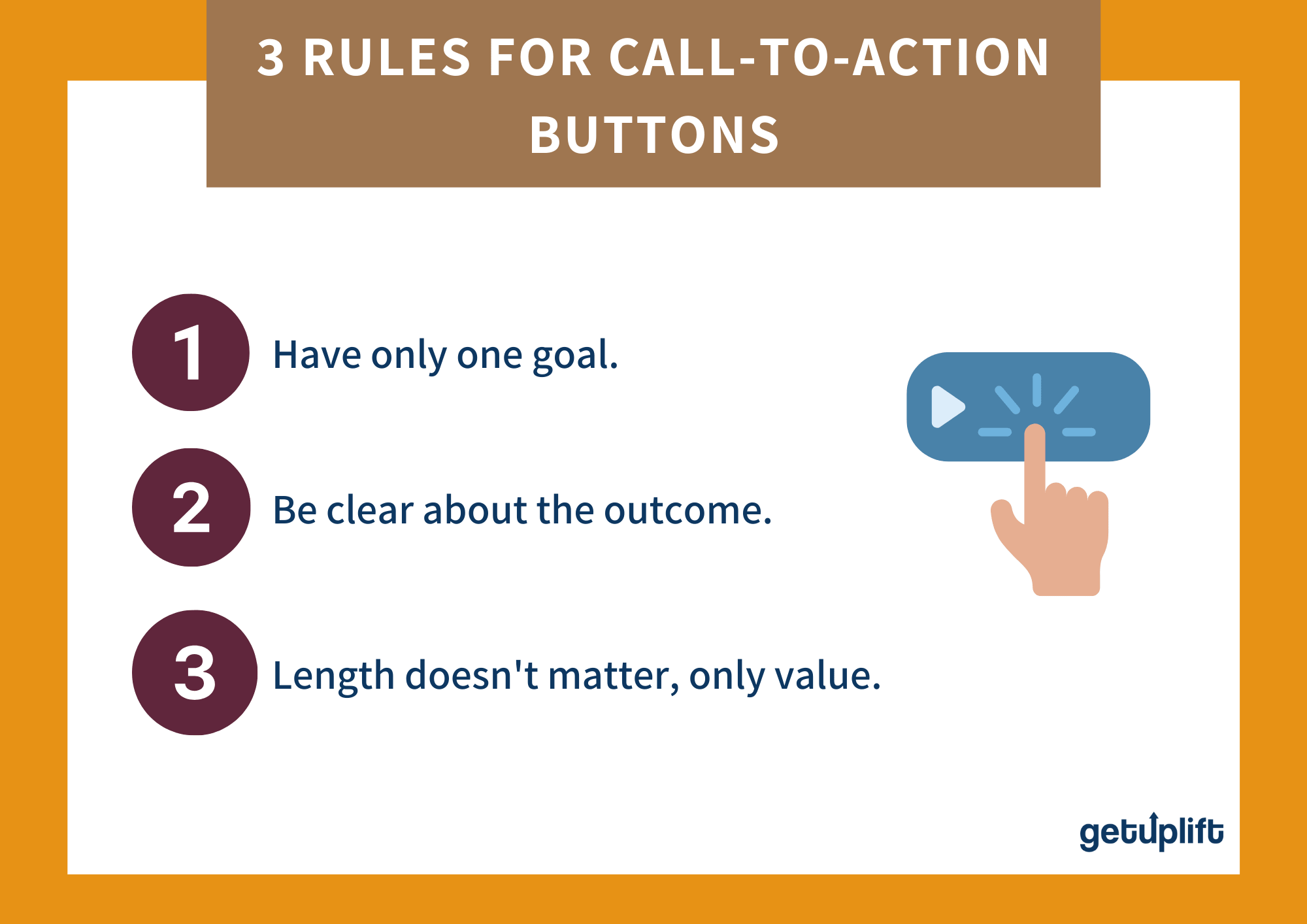 3 rules to consider when creating a call to action button for landing page optimization